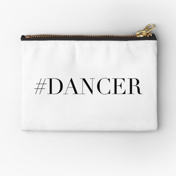 Dance Dancer Zipper Pouch