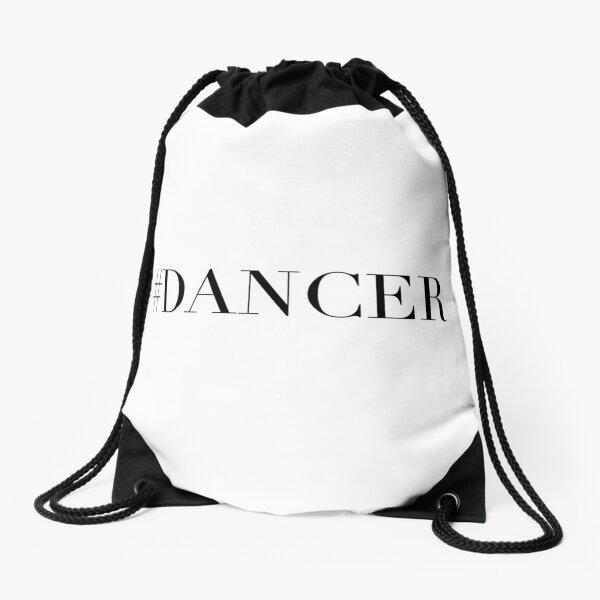 Dance Dancer Drawstring Bag