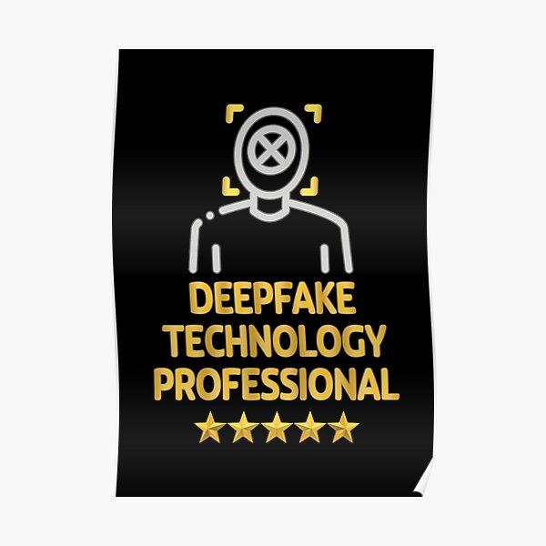 Deepfake Technology Professional. Poster
