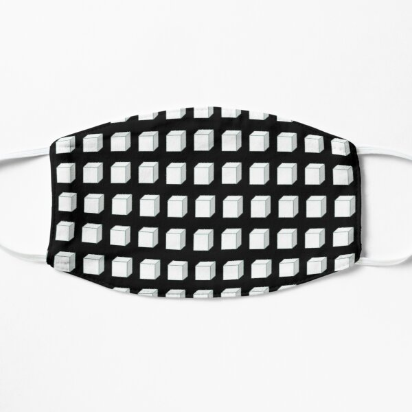 Black and White Cube  Mask