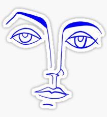Sketch by Picasso Sticker