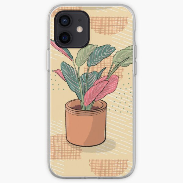Maranta leuconeura tricolor - crazy plant person  iPhone Soft Case