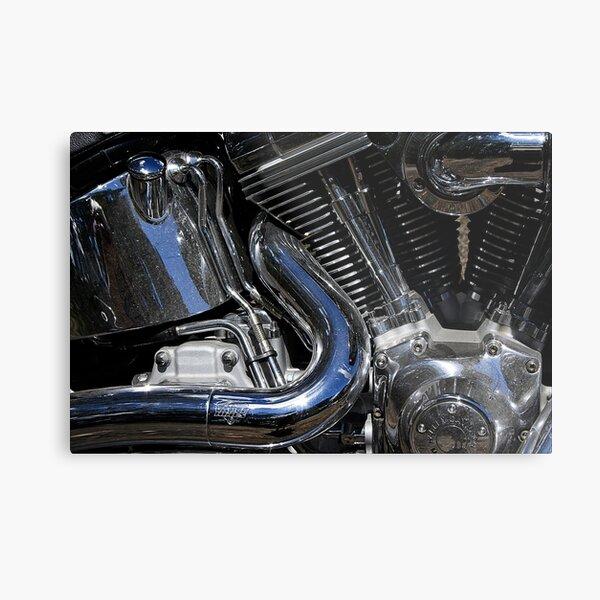 Jason's Harley Davidson Metal Print
