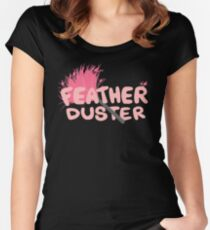 Feather Duster Women's Fitted Scoop T-Shirt