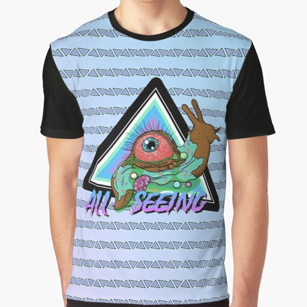 All-Seeing Snail Graphic T-Shirt