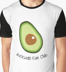Avocado Fan Club Graphic T-Shirt