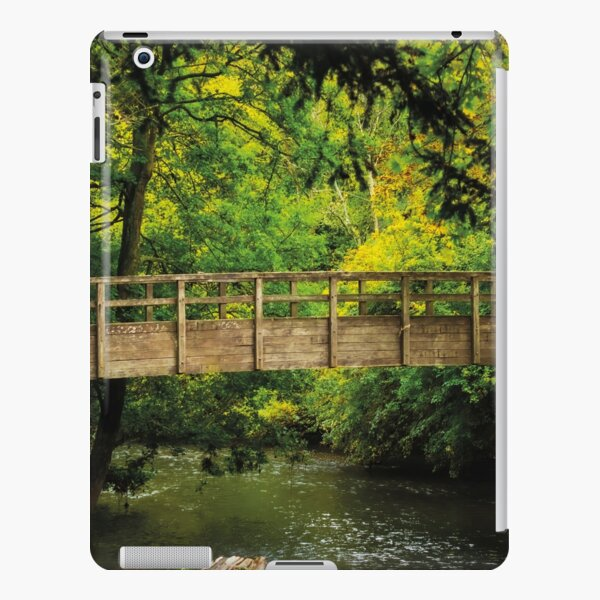 Bridge in a Peaceful Forest iPad Snap Case