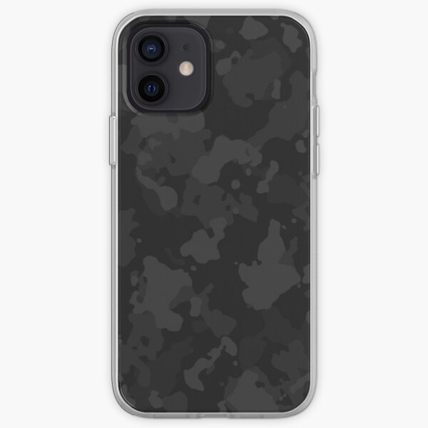 Night Camo iPhone Soft Case