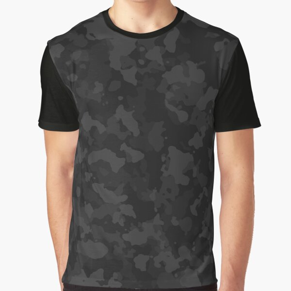Night Camo Graphic T-Shirt