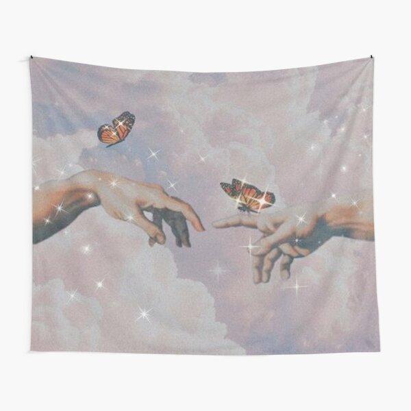Michaelangelo Butterflies Tapestry