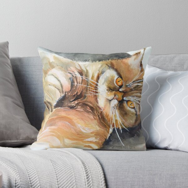 Sweet companion Throw Pillow