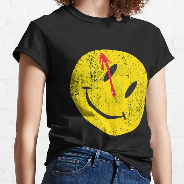 Watchmen Smiley Classic T-Shirt