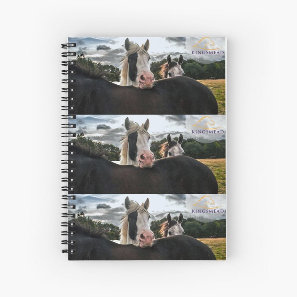 Kingsmead Horses Spiral Notebook