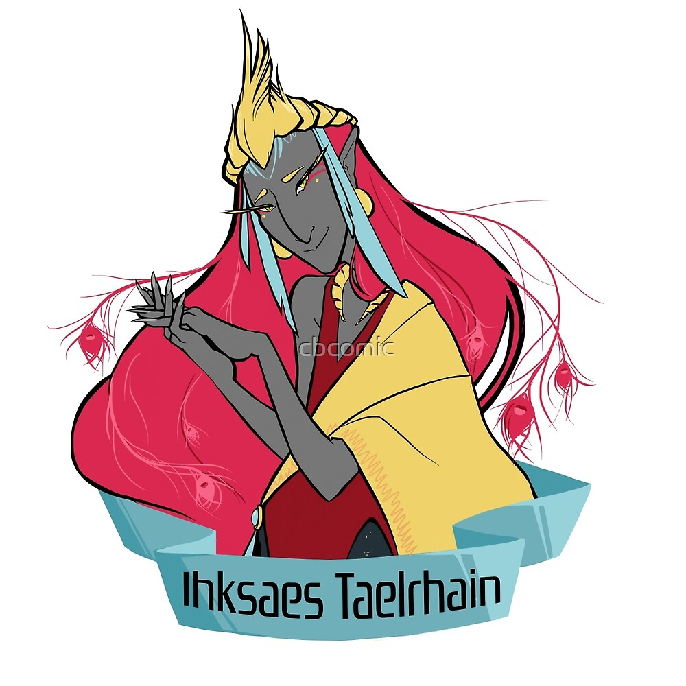 Taelrhain Crest by cbcomic