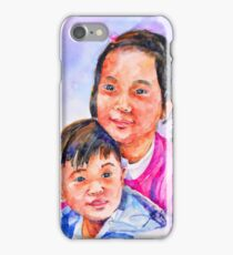 Siblings iPhone Case/Skin