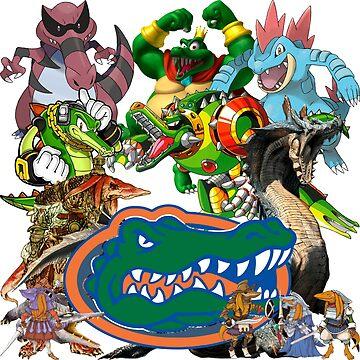 University of Florida Gator Gamer Shirt by UnitShifter
