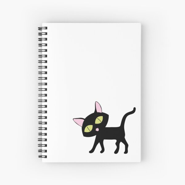 Lucky Cat Spiral Notebook