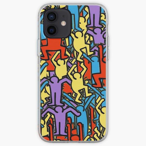Coques et étuis iPhone sur le thème Keith Haring | Redbubble