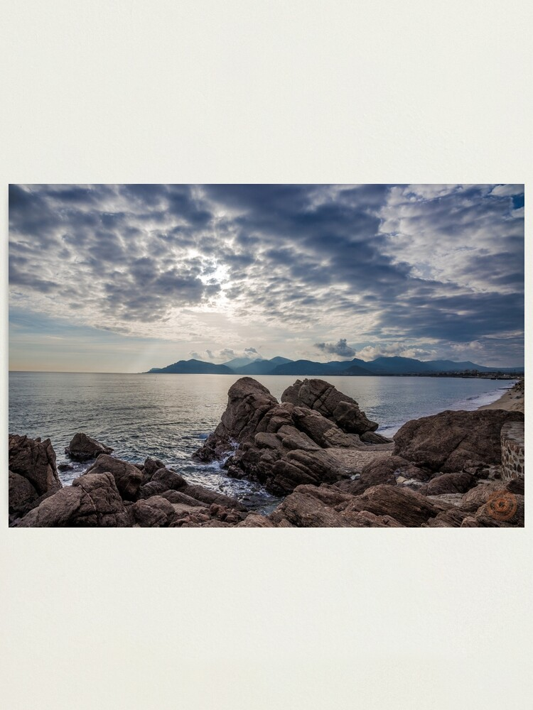Alternate view of Misty Horizons French Riviera Photographic Print