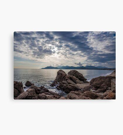 Misty Horizons French Riviera Canvas Print