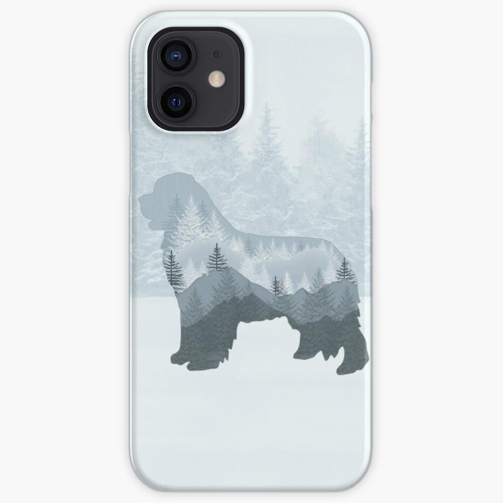 "Newfie ""Tree"" Design iPhone Case & Cover"
