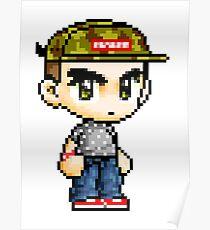 Pixel Hypebeast  Poster