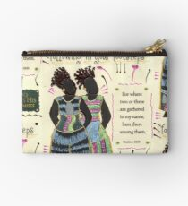 Following in your Footsteps Studio Pouch