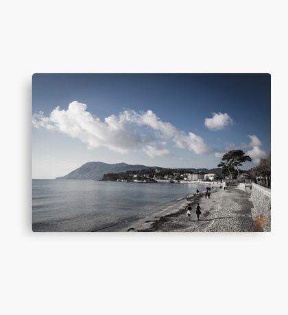 Beach Landscape Southern France Canvas Print