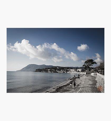 Beach Landscape Southern France Photographic Print