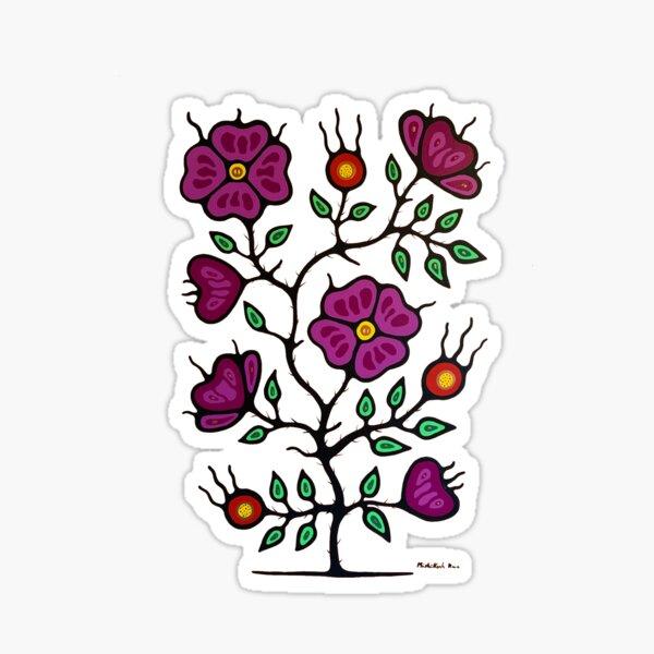 Wild roses Sticker
