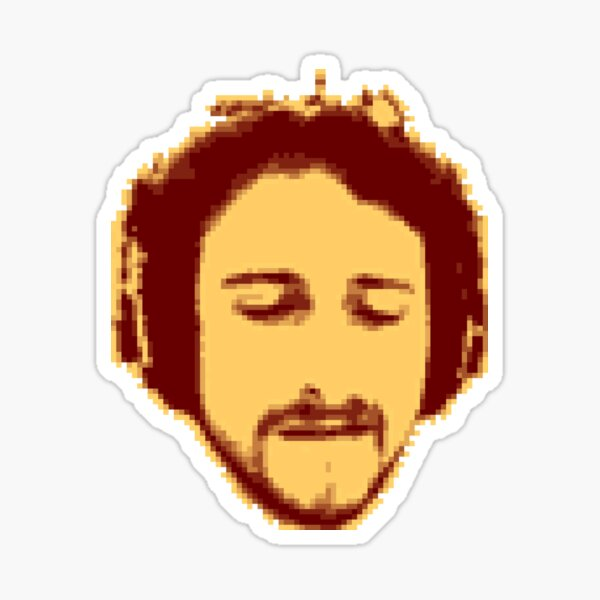 Headphone bZd Head (piTSoundS-era) Sticker
