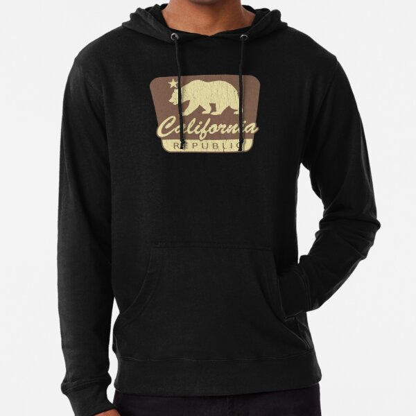 Big Bear Retro Trees Youth Hoodie California Kids Sweatshirt