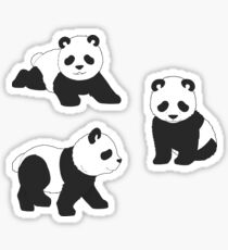 Kleiner Panda Sticker