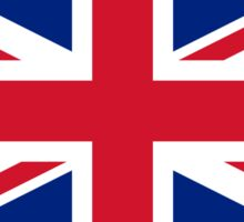 Official Flag of the United Kingdom Sticker