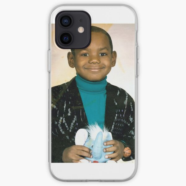 LeBron James (Kid) iPhone Soft Case