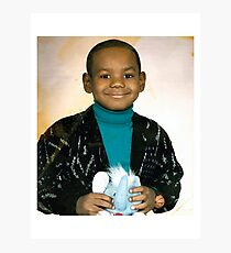 LeBron James (Kid) Photographic Print