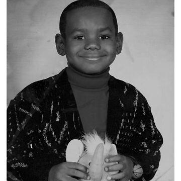 LeBron James (Kid BW) by iixwyed