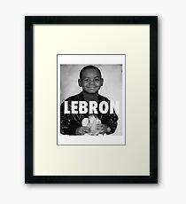 Lebron James (LeBron) Framed Print