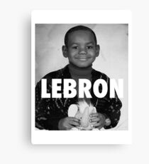 Lebron James (LeBron) Canvas Print
