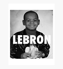 Lebron James (LeBron) Photographic Print