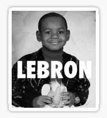 Lebron James (LeBron) Sticker