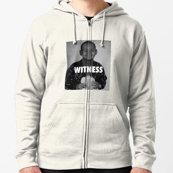 LeBron James (Witness) Zipped Hoodie