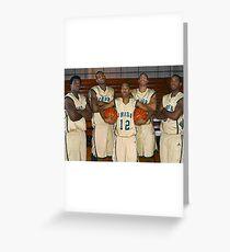 LeBron James (High School Team) Greeting Card