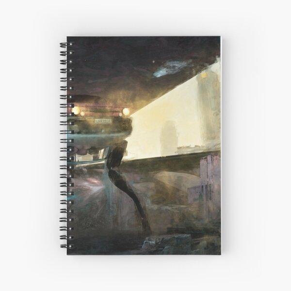 Mixed Art Hunter Spiral Notebook