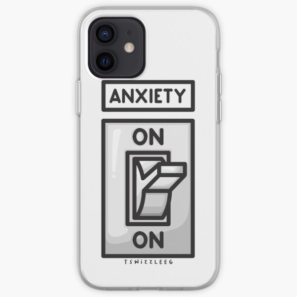 Anxiety Light Switch iPhone Soft Case