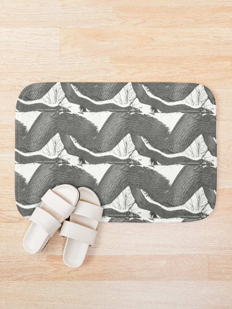 Alternate view of Solitude By Yannis Lobaina  Bath Mat