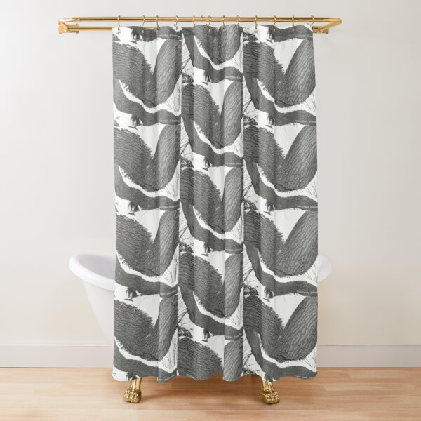 Solitude By Yannis Lobaina  Shower Curtain