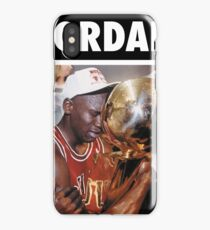 Michael Jordan (Championship Trophy) iPhone Case