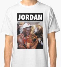 Michael Jordan (Championship Trophy) Classic T-Shirt