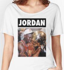 Michael Jordan (Championship Trophy) Women's Relaxed Fit T-Shirt